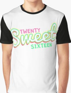 Twenty Sweet Sixteen (lime & pink edition) Graphic T-Shirt