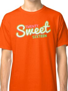 Twenty Sweet Sixteen (lime & pink edition) Classic T-Shirt