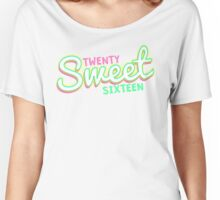 Twenty Sweet Sixteen (lime & pink edition) Women's Relaxed Fit T-Shirt