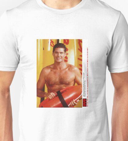 David Hasselhoff Unisex T-Shirt