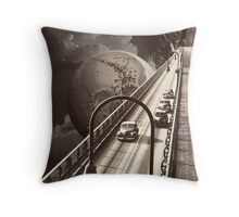 Lost Highway Throw Pillow
