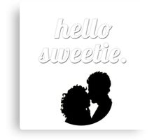 Hello Sweetie {FULL} Canvas Print