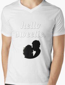 Hello Sweetie {FULL} Mens V-Neck T-Shirt