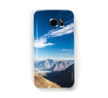 Autumn morning in the alps Samsung Galaxy Case/Skin