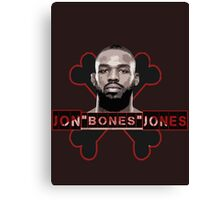 Jon Bones Jones UFC fighter Canvas Print