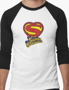 SUPER STEPMOM! Men's Baseball ¾ T-Shirt