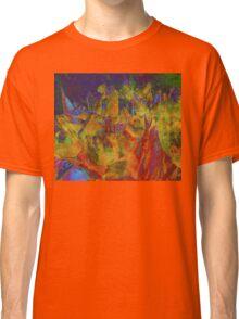 Grunge Tulips Classic T-Shirt
