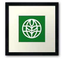 The Land Pavilion Classic Logo Framed Print