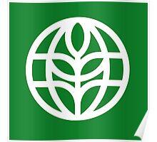 The Land Pavilion Classic Logo Poster