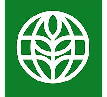 The Land Pavilion Classic Logo Photographic Print