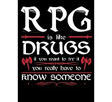 RPG - Roleplay Game Photographic Print