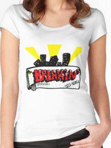 Breakin' Graffiti Women's Fitted Scoop T-Shirt
