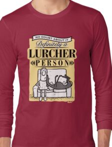 Lurcher Person Long Sleeve T-Shirt