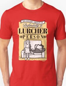 Lurcher Person Unisex T-Shirt