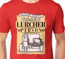 Lurcher Person Unisex T-Shirt