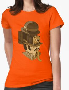 Cyclops photographer Womens Fitted T-Shirt