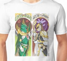 Green vs. White Unisex T-Shirt