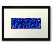 Midnight Grass Framed Print