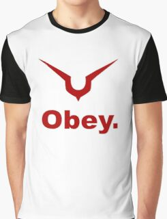 Code Geass: Obey Graphic T-Shirt