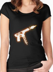 Get rekt - Tec 9 Women's Fitted Scoop T-Shirt
