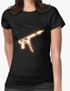 Get rekt - Tec 9 Womens Fitted T-Shirt