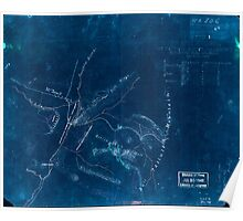 Civil War Maps 1639 Sketch of the battle of McDowell on Thursday May 8th 1862 Jackson Inverted Poster
