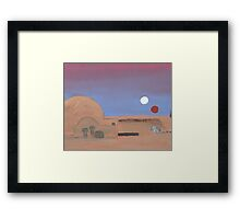Setting of the Suns Framed Print