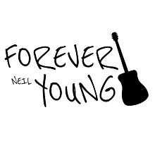 Forever Neil Young Rock Music Gift Photographic Print