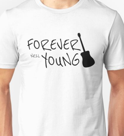 Forever Neil Young Rock Music Gift Unisex T-Shirt