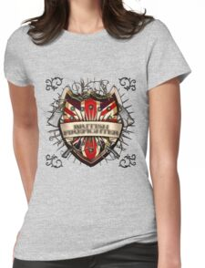 British Firefighter Womens Fitted T-Shirt
