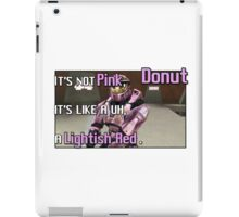 Red Vs Blue: Donut Best Quote iPad Case/Skin