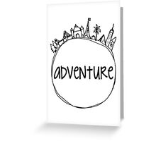 Adventure Globe Greeting Card