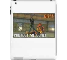 Red Vs Blue: Griff Best Quote iPad Case/Skin