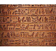 Egyptian tablet 0001 Photographic Print