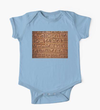 Egyptian tablet 0001 One Piece - Short Sleeve