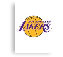LA LAKERS logo Canvas Print