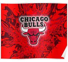 The Bulls is on fire!! Poster