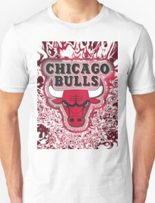 The Bulls is on fire!! Unisex T-Shirt