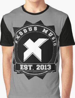 Exodus Music Badge Logo Graphic T-Shirt