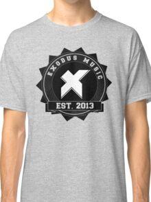 Exodus Music Badge Logo Classic T-Shirt