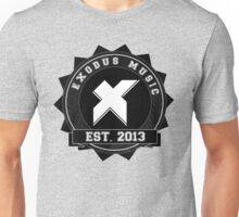 Exodus Music Badge Logo Unisex T-Shirt