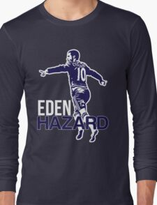 Eden Hazard Chelsea Long Sleeve T-Shirt
