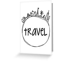 Travel Globe Greeting Card