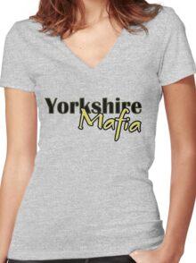 Yorkshire Mafia Women's Fitted V-Neck T-Shirt