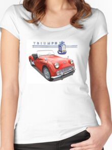 Triumph Tr3 Women's Fitted Scoop T-Shirt