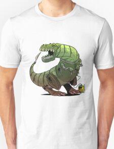 Robot T-rex Unisex T-Shirt
