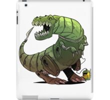 Robot T-rex iPad Case/Skin