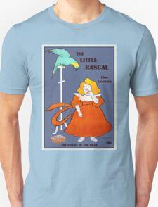 Vintage little girl, parrot, cookies ad, Leonetto Cappiello Unisex T-Shirt