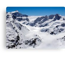Murchison Glacier Canvas Print