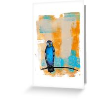 Blueburd of Happiness Greeting Card